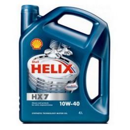 SHELL HELIX HX7 10W40 4L