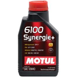 MOTUL SYNERGIE + 6100 10W40 1L