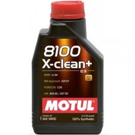 MOTUL 8100 X-CLEAN PLUS 5W30 1L