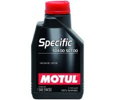 MOTUL SPECIFIC 504 00/507 00 5W30 1L.
