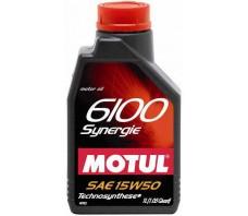 MOTUL 6100 SYNERGIE 15W50 1L.
