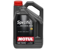 MOTUL SPECIFIC 505 01/502 00 5W40 5L