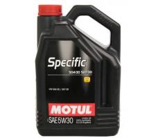 MOTUL SPECIFIC 504 00/507 00 5W30 5L.