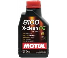 MOTUL 8100 X-CLEAN FE 5W30 1L.