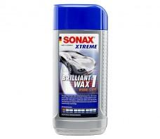 SONAX XTREME BRILLIANT WAX 1 TWARDY WOSK W PŁYNIE 250ML.