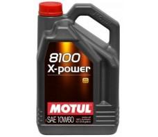 MOTUL 8100 X-POWER SAE 10W60 5L