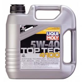 LIQUI MOLY 5W40 TOP TEC 4100 4L