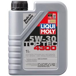 LIQUI MOLY 5W30 TOP TEC 4300 1L