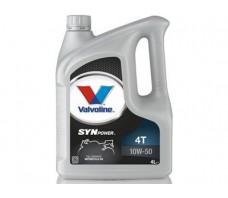 VALVOLINE SYNPOWER 4T 10W50 4L.