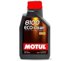 MOTUL 8100 ECO-CLEAN C2 0W30 1L
