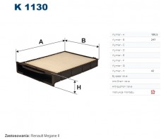 FILTRON FILTR KABINY K1130