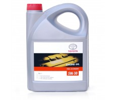 TOYOTA ENGINE OIL FUEL ECONOMY 5W30 5L.