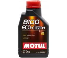 MOTUL 8100 ECO-CLEAN PLUS C1 5W30 1L