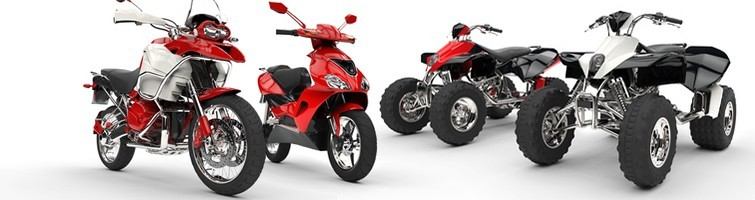 MOTOCYKLE, SKUTERY, QUADY